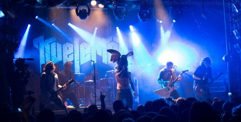 Kvelertak Live in London Camden Electric Ballroom March 14